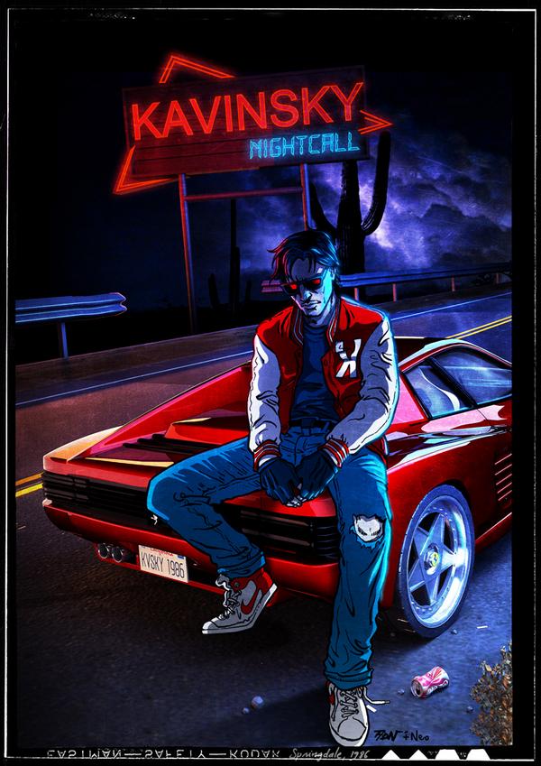 Gat5音乐制作人打造《kavinsky》下月初上架 手机游戏排行榜
